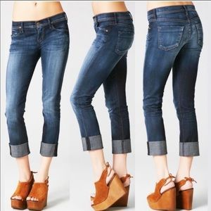 COH Dani Cropped Straight Jeans